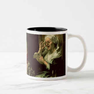 As the Old Sing, so the Young Pipe, 1638 Two-Tone Coffee Mug