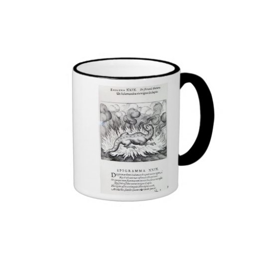 As the Salamander lives in fire Coffee Mugs