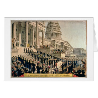 As They Appeared Participating in the Inauguration Card
