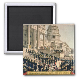 As They Appeared Participating in the Inauguration Magnet