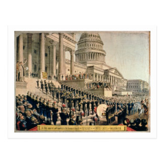 As They Appeared Participating in the Inauguration Postcard
