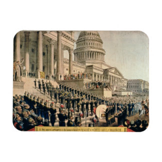 As They Appeared Participating in the Inauguration Vinyl Magnets