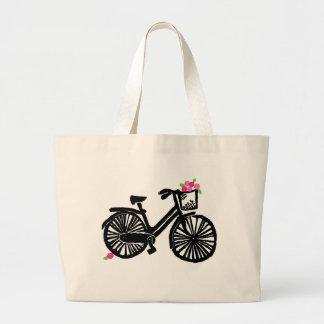 AS Tote Bag Black Bike