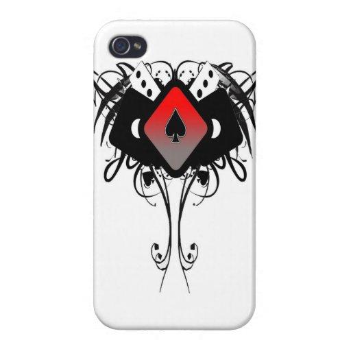 as tribal de la caja del teléfono de la espada iPhone 4 carcasas