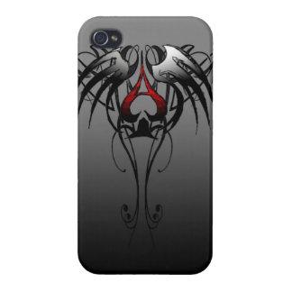 as tribal de la caja del teléfono de la espada iPhone 4/4S carcasa