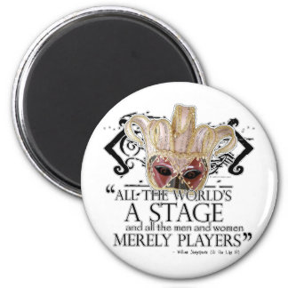 As You Like It Quote 2 Inch Round Magnet