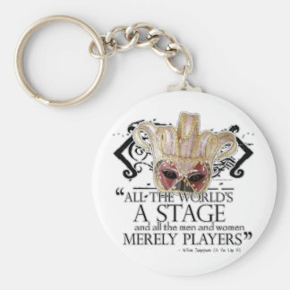 As You Like It Quote Keychain