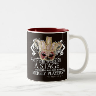 As You Like It Quote Two-Tone Coffee Mug