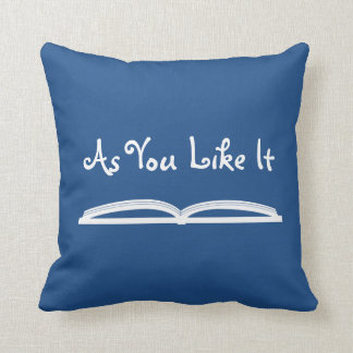 As You Like It Shakespeare Quote Throw Pillow