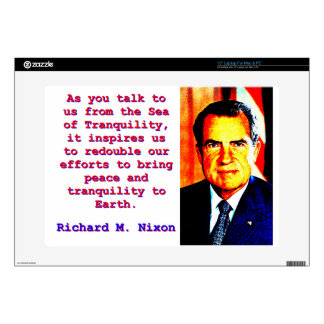 As You Talk To Us - Richard Nixon Decals For Laptops