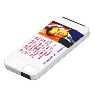 As You Talk To Us - Richard Nixon iPhone SE/5/5s Case