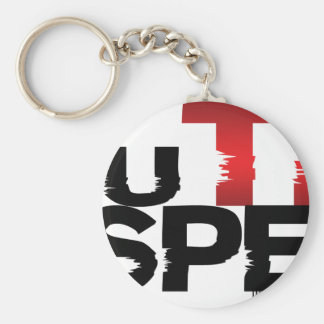 As You Think So I Respect You Basic Round Button Keychain