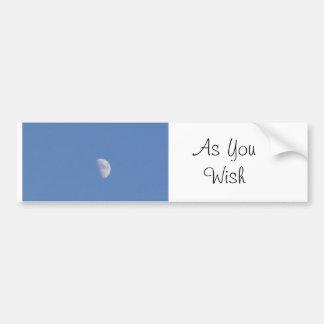As You Wish Bumper Sticker