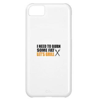 asa a la parrilla funda para iPhone 5C