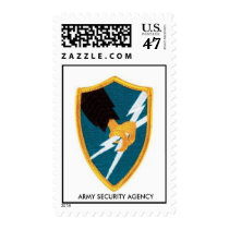 ASA,  ARMY SECURITY AGENCY POSTAGE