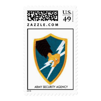 ASA,  ARMY SECURITY AGENCY STAMPS