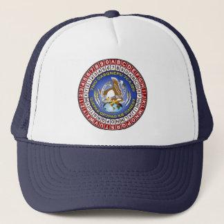 ASA Cipher Wheel 1 Trucker Hat