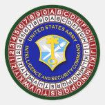 ASA Cipher Wheel 3 Sticker