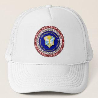 ASA Cipher Wheel 3 Trucker Hat