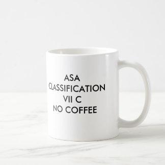 ASA CLASSIFICATION VII CNO COFFEE, ASA CLASSIFI... COFFEE MUG