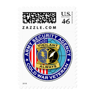 ASA Cold War Veteran 1 Stamps