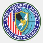 ASA CWV2 s Classic Round Sticker