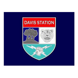 ASA Davis Station 1 Postcard