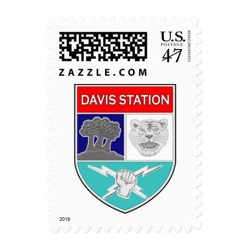 ASA Davis Station 1 Stamp