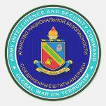 ASA DLI CW1 s Round Sticker