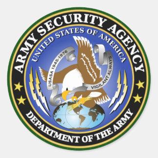 ASA Sobs s Round Stickers