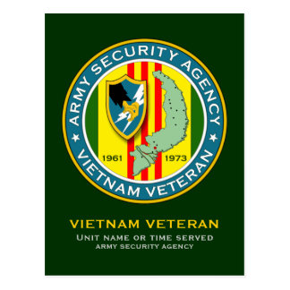 ASA Vietnam Veteran Postcard