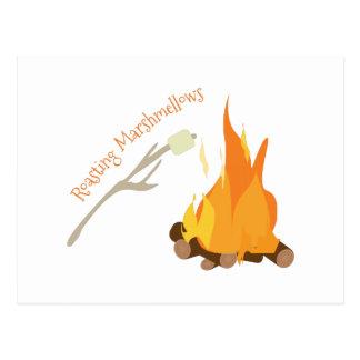 Asación Marshmellows Tarjeta Postal