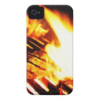 Asado a la parilla del filete iPhone 4 protectores