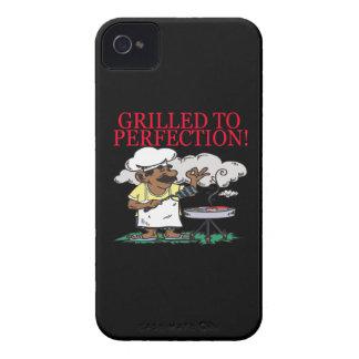 Asado a la parrilla a la perfección iPhone 4 Case-Mate fundas