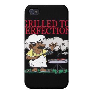 Asado a la parrilla a la perfección iPhone 4/4S fundas