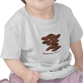 Asado y tostado camiseta