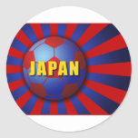 Asahi day soccer classic round sticker