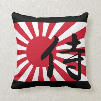 Asahi Samurai Throw Pillow