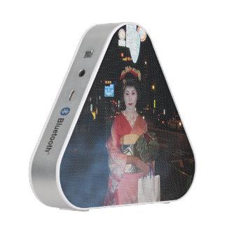 Asakusa Geisha Neo Tokyo Bluetooth Speaker
