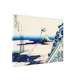 Asakusa Hongan-ji Gallery Wrapped Canvas