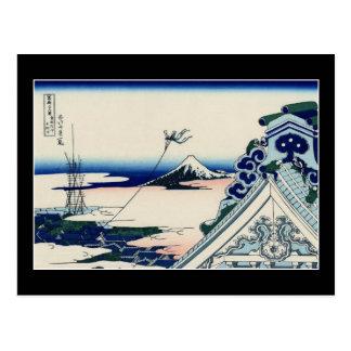 Asakusa Hongan-ji temple in the Eastern capital Postcard