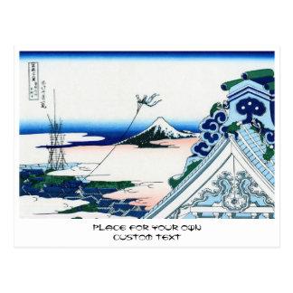 Asakusa Honganji temple in th Eastern capital Postcard