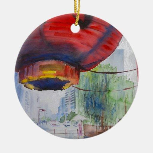 ASAKUSA, Japón Ornamento Para Arbol De Navidad
