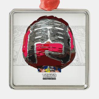 Asakusa Kaminarimon TOKYO SIGHTSEEING Metal Ornament