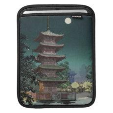 Asakusa Kinryuzan Temple Tsuchiya Koitsu iPad Sleeves