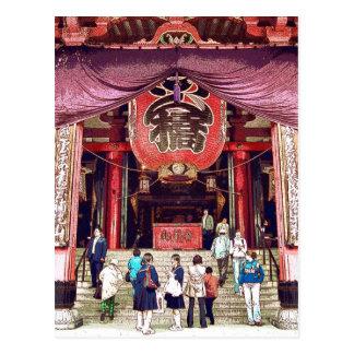 Asakusa Kwannon original photography Postcard