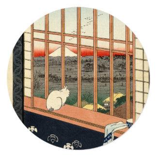 Asakusa Ricefields and Torinomachi Festival. Card