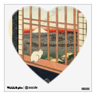 Asakusa Ricefields and Torinomachi Festival. Wall Sticker