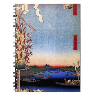 Asakusa River, Miyato River, Great Riverbank (浅草川大 Notebook