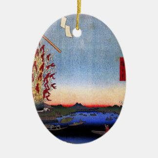 Asakusa River, Miyato River, Great Riverbank (浅草川大 Ornaments